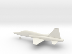 Northrop T-38 Talon in White Natural Versatile Plastic: 1:72
