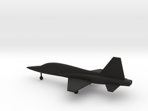 Northrop T-38 Talon in Black Natural Versatile Plastic: 1:160 - N