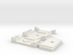 Gabarit Montage Aiguilles Kit Peco in White Strong & Flexible
