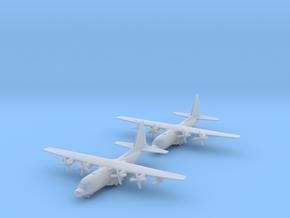 1/700 MC-130 w/Gear x2 (FUD) in Smooth Fine Detail Plastic