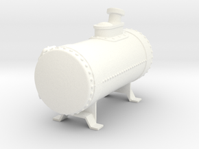 Rat rod fuel cell - 22 gallon in White Processed Versatile Plastic