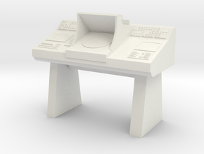 Transporter Console (Star Trek Classic) in White Natural Versatile Plastic: 1:30