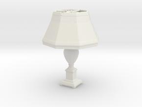 Printle Thing Lamp 01 - 1/24 in White Natural Versatile Plastic