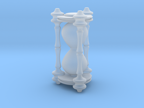 Death's Hourglass / Lifetimer - v1 in Smooth Fine Detail Plastic: 1:18