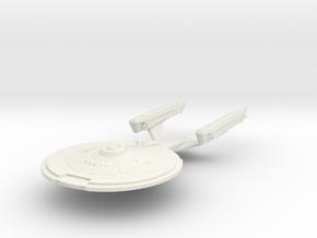 Bosley Class V  Cruiser in White Natural Versatile Plastic