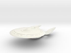 Enterwind Class VII C Refit  HvyCruiser in White Natural Versatile Plastic