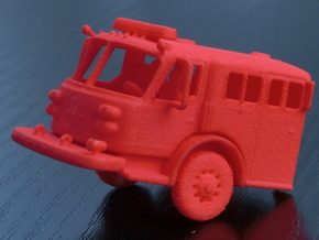 ALF Century 2000 1:87 Cab in Red Processed Versatile Plastic