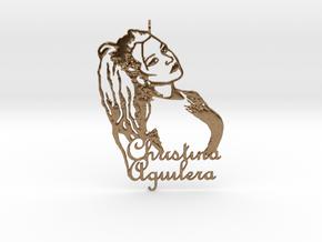 Christina Aguilera Pendant - Exclusive Jewellery in Natural Brass