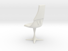 TOS Burke Chair Ver.2 1:6 12-inch in White Natural Versatile Plastic