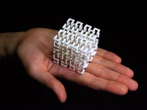 Hilbert Curve in White Strong & Flexible