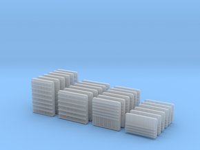 1/100 DKM Louvers x24 in Smooth Fine Detail Plastic
