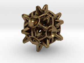 Crowns D12 in Polished Bronze