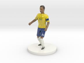 Neymar in Glossy Full Color Sandstone
