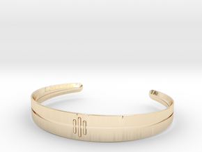 Stitch Bracelet in 14K Yellow Gold: Small