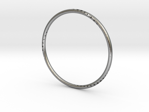 Orbit Bracelet in Natural Silver: Small