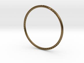 Orbit Bracelet in Natural Bronze: Small