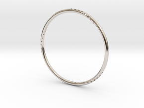 Orbit Bracelet in Platinum: Small