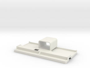 Docking station ELF for smartphones and tablets in White Natural Versatile Plastic