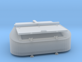 1/96 DKM Stern Deck Hatch v8 in Frosted Ultra Detail