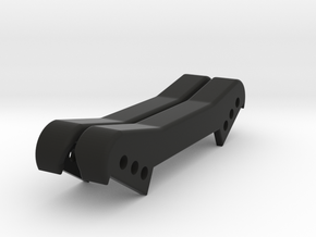 B64D Front Shock tower cover in Black Natural Versatile Plastic