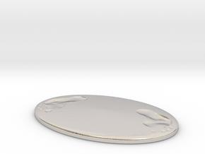 Invisible Stalker Miniature in Platinum: 1:60.96