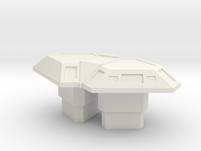 CIC Table (Battlestar Galactica) in White Natural Versatile Plastic: 1:30