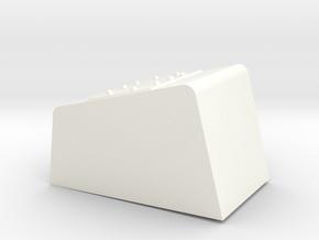 Seaking Nose Detail in White Processed Versatile Plastic