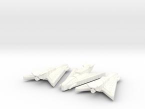 3125 Haydron Corvettes in White Processed Versatile Plastic