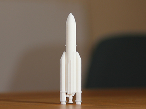 Ariane 5 in White Strong & Flexible: 1:500