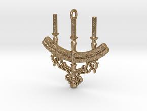 Aldrich Faithful Sigil in Polished Gold Steel