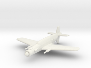 Dornier Do.335 'Pfeil' (with cannons) in White Natural Versatile Plastic: 1:200