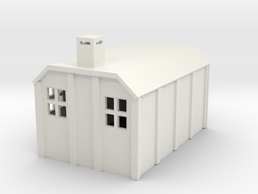G-87-sr-concrete-hut-1 in White Natural Versatile Plastic