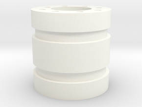 Bussard Dome Assembly - 600 - 3 in White Processed Versatile Plastic