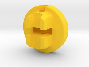 Zipper Pull Generations in Yellow Processed Versatile Plastic