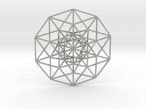 """5D Hypercube 5.5"""" in Aluminum"""