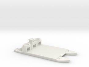 1/285 Siebelfahre 43 in White Natural Versatile Plastic