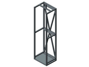 1/87 HO concrete preform cage holders in Frosted Ultra Detail