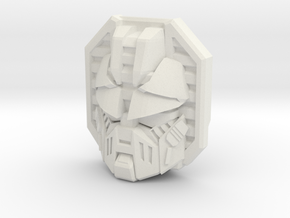Movie Longarm/Hoist Face (Titans Return) in White Strong & Flexible