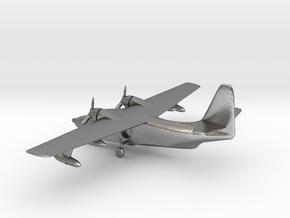 Grumman HU-16 Albatross in Natural Silver: 1:285 - 6mm