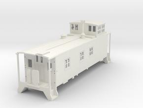 DRGW Caboose V1  in White Natural Versatile Plastic