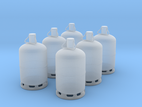 1/60 bouteille de gaz / gas bottle X 6 in Smoothest Fine Detail Plastic
