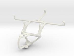 Controller mount for PS3 & Motorola Moto G5 Plus in White Natural Versatile Plastic