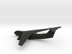 Lockheed C-141A Starlifter in Black Strong & Flexible: 1:500