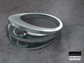 Ring - Bend1 in Stainless Steel