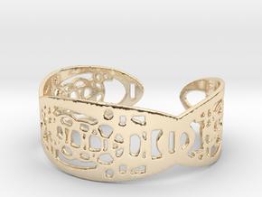 UI9 Design Bracelet 5,8 cm in 14K Yellow Gold