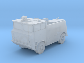 1:350 Scale MB-5 Fire Truck (new design) in Smooth Fine Detail Plastic