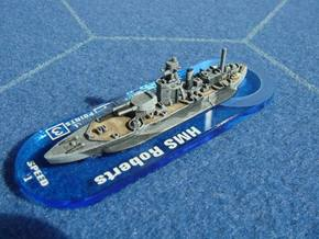 HMS Roberts 1/1800 in Smooth Fine Detail Plastic