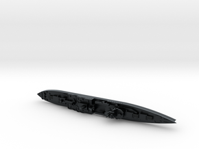 USS Indianapolis 1/1800 in Black Hi-Def Acrylate