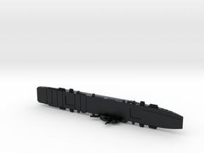 HMS Colossus 1/1800 in Black Hi-Def Acrylate
