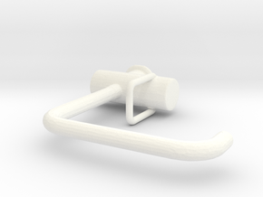 Tap for kitchen or bathroom, 1:12, 1:24 in White Processed Versatile Plastic: 1:12